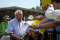 Arnold Palmer,.MARCH 20, 2012 - Golf :.Arnold Palmer sings his autograph for fans during the practice round of the Arnold Palmer Invitational at Arnold Palmer's Bay Hill Club and Lodge in Orlando, Florida. (Photo by Thomas Anderson/AFLO)(JAPANESE NEWSPAPER OUT)