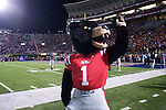 Rebel the Bear mascot at the Ole Miss vs. Louisiana Tech in Oxford, Miss. on Saturday, November 12, 2011. Louisiana Tech won 27-7.