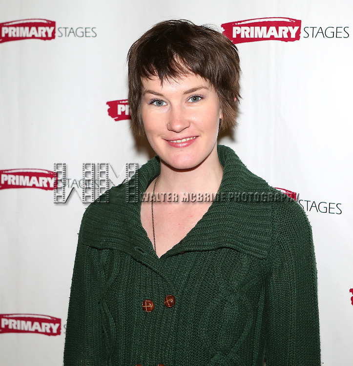 Keira Keeley attending the Meet & Greet for the Primary Stages production of 'The Tribute Artist' at their rehearsal studios  on January 7, 2014 in New York City.