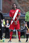 29 November 2015: Indiana's Femi Hollinger-Janzen. The Wake Forest University Demon Deacons hosted the Indiana University Hoosiers at Spry Stadium in Winston-Salem, North Carolina in a 2015 NCAA Division I Men's Soccer Tournament Third Round match. Wake Forest won the game 1-0.