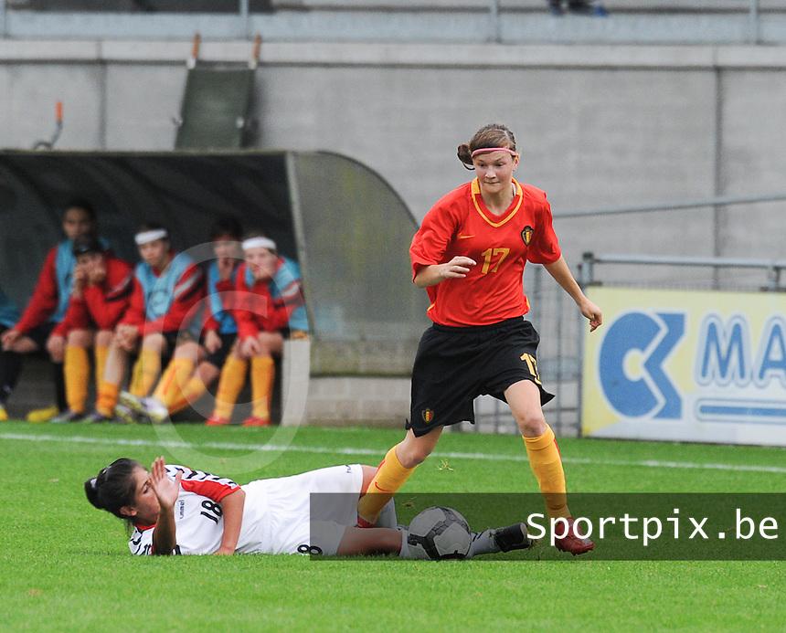 Belgium U17 - Armenia U17 : Elke Van Gorp<br /> foto Joke Vuylsteke / nikonpro.be
