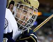 Jeff Costello (Notre Dame - 11) - The University of Notre Dame Fighting Irish defeated the University of New Hampshire Wildcats 2-1 in the NCAA Northeast Regional Final on Sunday, March 27, 2011, at Verizon Wireless Arena in Manchester, New Hampshire.