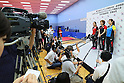 Table Tennis: Japan National Team training session for Rio Olympic Games 2016
