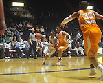 "Ole Miss's Valencia McFarland (3) vs. Tennessee at C.M. ""Tad"" Smith Coliseum in Oxford, Miss. on Thursday, February 24, 2011."