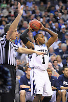 Shelvin Mack of the Bulldogs looks to inbound the ball. Butler defeated Old Dominion 60-58 during the NCAA tournament at the Verizon Center in Washington, D.C. on Thursday, March 17, 2011. Alan P. Santos/DC Sports Box
