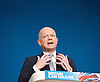 Conservative Party Conference, ICC, Birmingham, Great Britain <br /> Day 1<br /> 7th October 2012 <br /> <br /> <br /> <br /> Rt Hon William Hague MP<br /> Foreign Secretary <br /> <br /> Photograph by Elliott Franks<br /> <br /> Tel 07802 537 220 <br /> elliott@elliottfranks.com<br /> <br /> &copy;2012 Elliott Franks<br /> Agency space rates apply