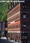 Historic Lehigh Coal and Navigation Building, Jim Thorpe, Carbon Co., PA