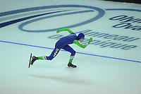 SPEEDSKATING: CALGARY: 12-11-2015, Olympic Oval, training, Jorrit Bergsma, ©foto Martin de Jong