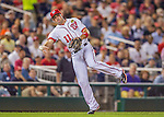 20 September 2013: Washington Nationals third baseman Ryan Zimmerman in action against the Miami Marlins at Nationals Park in Washington, DC. The Nationals defeated the Marlins 8-0 to take the second game of their 4-game series. Mandatory Credit: Ed Wolfstein Photo *** RAW (NEF) Image File Available ***
