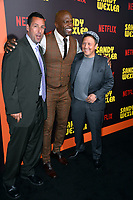 Adam Sandler, Terry Crews, Rob Schneider at the premiere for &quot;Sandy Wexler&quot; at The Cinerama Dome. Los Angeles, USA 06 April  2017<br /> Picture: Paul Smith/Featureflash/SilverHub 0208 004 5359 sales@silverhubmedia.com