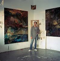 Artist in Manhattan