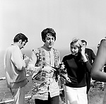 Beatles 1967 Paul McCartney at start of Magical Mystery Tour..© Chris Walter..