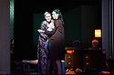 Opera North presents THE MAKROPULOS CASE, by Janacek, at the Festival Theatre, as part of the Edinburgh International Festival. Picture shows: Ylva Kihlberg (as Emilia Marty) and Stephanie Corley (as Kristina).
