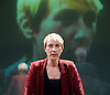 Oresteia<br /> by Aeschylus <br /> a new version created by Robert Icke<br /> at Almeida Theatre, London, Great Britain <br /> press photocall<br /> 4th June 2015 <br /> <br /> Lia Williams<br /> <br /> <br /> <br /> <br /> Photograph by Elliott Franks <br /> Image licensed to Elliott Franks Photography Services