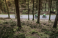 Team Cannondale-Drapac at the Liège-Bastogne-Liège 2017 recon