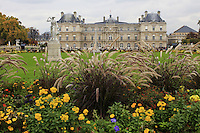France, Paris, October 30, 2011..General view of the Luxembourg palace in Paris October 30 , 2011. VIEWpress / Eduardo Munoz Alvarez..Paris is today one of the world's leading business and cultural centres, and its influences in politics, education, entertainment, media, fashion, science, and the arts all contribute to its status as one of the world's major global cities. Media Reported.
