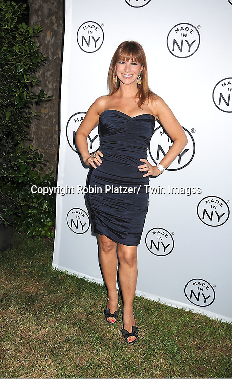 "Jill Zarin attending The ""Made in NY"" Awards at Gracie Mansion.on June 6, 2011. Matt Damon, John Leguizammo and Lauren Zalaznick and Sidney Lumet were the honorees."