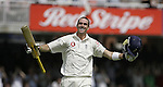 JAMES BOARDMAN / 07967642437 - 01444 412089  England's  Kevin Pietersen celebrates his century during day two of the  first npower Test match between England and Sri Lanka at Lord's on May 12, 2006 in London. .. .