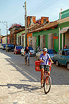 Central America, Cuba, Trinidad. Bicycles of Trinidad, Cuba.