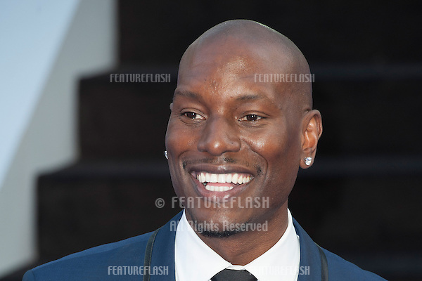Tyrese Gibson arriving for the 'Fast And Furious 6' Premiere, at Empire Leicester Square, London. 07/05/2013 Picture by: Simon Burchell / Featureflash