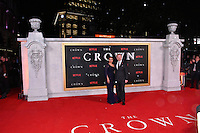 Allegra Riggio, Jared Harris<br /> Premiere of The Crown, a new Netflix TV series about the reign of Queen Elizabeth II, at Odeon Leicester Square, London, England November 01, 2016.<br /> CAP/JOR<br /> &copy;JOR/Capital Pictures /MediaPunch ***NORTH AND SOUTH AMERICAS ONLY***