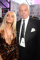 LOS ANGELES, CA - NOVEMBER 20: Bebe Rexha, Mike McVay at Westwood One on the carpet at the 2016 American Music Awards at the Microsoft Theater in Los Angeles, California on November 20, 2016. Credit: David Edwards/MediaPunch