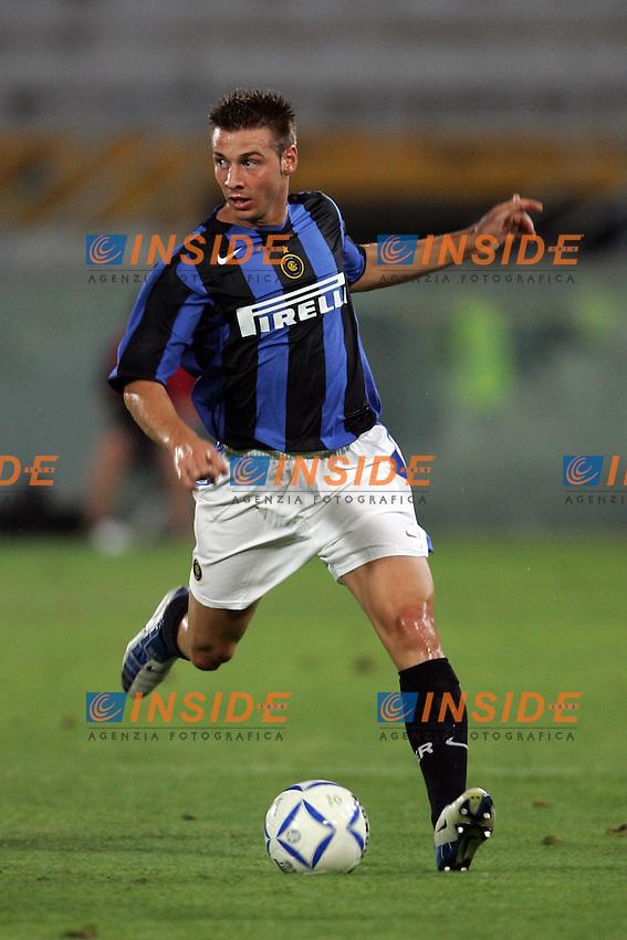 Pisa 14/8/2004 Inter Aek Atene 5-1 Friendly tournament Sky. Giovanni Pasquale Inter<br /> Foto Andrea Staccioli Insidefoto