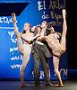 English National Ballet <br /> Triple Bill at Sadler's Wells, London, Great Britain <br /> 12th April 2016 <br /> world premier rehearsal <br /> <br /> <br /> Broken Wings<br /> choreography by Annabelle Lopez Ochoa<br /> <br /> Irek Mukhamedov<br /> as Diego Rivera<br /> <br /> <br /> <br /> <br /> Photograph by Elliott Franks <br /> Image licensed to Elliott Franks Photography Services