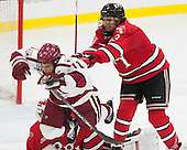 Kyle Criscuolo (Harvard - 11), Jared Wilson (RPI - 13) - The Harvard University Crimson defeated the visiting Rensselaer Polytechnic Institute Engineers 5-2 in game 1 of their ECAC quarterfinal series on Friday, March 11, 2016, at Bright-Landry Hockey Center in Boston, Massachusetts.