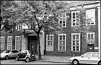 BNPS.co.uk (01202 558833)<br /> Pic: TheHistoryPress/BNPS<br /> <br /> Only the barred ground- oor windows betray this building&rsquo;s former function as a high-security Stasi prison, where Douglas was kept in solitary confinement for six terrifying weeks.<br /> <br /> A former spy has given a unique account of being held hostage in an East German prison and interrogated by the KGB in a new book.<br /> <br /> Ex-British agent Douglas Boyd was confronted by the KGB while enduring solitary confinement as a Cold War prisoner in a Stasi interrogation prison behind the iron curtain in 1959.<br /> <br /> KGB officers tried desperately to get him to break his cover - of a run of the mill clerk - and offered him a bogus deal in order to get him out of the prison so they could take him to a Gulag.<br /> <br /> The Solitary Spy, A Political Prisoner in Cold War Berlin, by Douglas Boyd, is published by The History Press and costs &pound;20.
