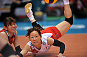 Yuko Sano (JPN), .MAY 23, 2012 - Volleyball : FIVB the Women's World Olympic Qualification Tournament for the London Olympics 2012, between Japan 1-3 Korea at Tokyo Metropolitan Gymnasium, Tokyo, Japan. (Photo by Jun Tsukida/AFLO SPORT) [0003].