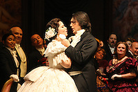 Seattle Opera: La Traviata - silver dress