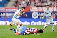 ATLETICO DE MADRID v MALAGA CF. La Liga Santander.