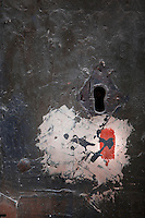 Detail of a keyhole in an old door in Ortigia, Syracuse, Sicily, pictured on September 13, 2009, in the afternoon. The 2,700 year old Syracuse is a province and a city in southern Italy on the Island of Sicily. The island Ortigia is the historic centre of Syracuse. Today the city is a UNESCO World Heritage Site. Founded by Ancient Greek Corinthians and allied with Sparta and Corinth, it was a very powerful city-state and one of the major powers of the Mediterranean.  In the 17th century it was heavily destroyed by an earthquake. Many buildings date back to the  19th century when it regained importance. Picture by Manuel Cohen.