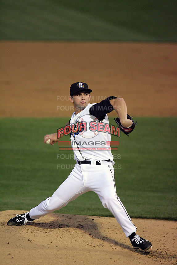 April 14, 2010: Tyler Chatwood of the Rancho Cucamonga Quakes during game against the Modesto Nuts at The Epicenter in Rancho Cucamonga,CA.  Photo by Larry Goren/Four Seam Images