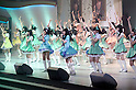 June 6, 2012, Tokyo, Japan - NMB48 members at stage.  AKB General Election at Nippon Budokan. The biggest girl band in the world and Japan's most popular pop group elected its new leader in a nationwide election open to all fans. The collective is organised into different units which in turn are sometimes split into smaller groups. The night involved singing, games, tears and the eventual crowning of new leader Yuko Oshima from Team K with 108837 votes for most popular member..