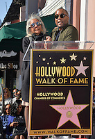 LOS ANGELES, CA. December 2, 2016: Lee Daniels &amp; mother Clara Watson at star ceremony for director Lee Daniels on the Hollywood Walk of Fame.<br /> Picture: Paul Smith/Featureflash/SilverHub 0208 004 5359/ 07711 972644 Editors@silverhubmedia.com