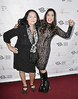 "BEVERLY HILLS, CA - AUGUST 26: Josefina Lopez and Kamala Lopez attend the ""Equal Means Equal"" Special Screening at the Music Hall on August 20, 2016 in Beverly Hills, CA. Koi Sojer, Snap'N U Photos / MediaPunch"