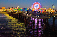 Santa Monica Pier, Saturday, January 13, 2013.