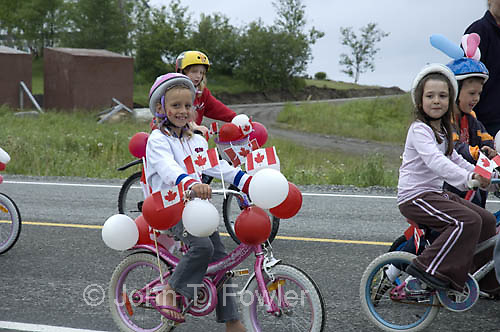 Canada Day Parade, July 1, 2008, Hawke's Bay, Newfoundland