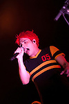 My Chemical Romance opening for Blink 182 on the Handa Civic Tour at Verizon Wireless Amphitheater.