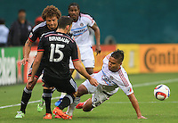 Washington,D.C. - Wednesday, June 03 2015: DC United defeated the Chicago Fire 3-1 in a MLS match at RFK Stadium..