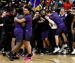 3-10-17, Pioneer High School vs Huron High School, MHSAA Div. I District Championship