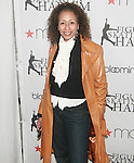 Tamara Tunie attends The 2011 Figure Skating in Harlem - Skating with the Stars Honoring Tina and Terry Lundgren, Sarah Hughes and Lola C. West at the Wollman Rink, NY 4/4/11