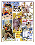 """Mr Punch """"Presents"""" a Few Screen Opportunities for Prominent Aspirants. (politicians in film posters)"""