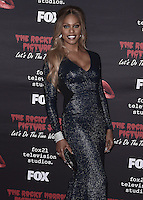 "WEST HOLLYWOOD, CA - OCTOBER 13, 2016:  Laverne Cox at the red carpet premiere of Fox's ""The Rock Horror Picture Show: Lets Do the Time Warp Again"" at The Roxy on October 13, 2016 in West Hollywood, California. Credit: mpi991/MediaPunch"