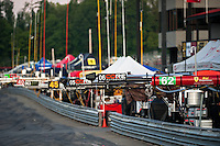 4 August, 2011; Lexington, OH, USA; Pitroad Thursday at the Mid-Ohio Sports Car Challenge, American Le Mans Series RD5;  Mandatory Credit: Scott LePage-MotorRacingPhoto    &copy; 2011 Scott LePage  http://MotorRacingPhoto.com