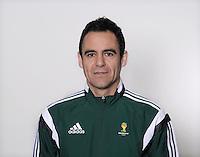 FUSSBALL Fototermin FIFA WM Schiedsrichter  09.04.2014 Carlos VELASCO CARBALLO (Spanien)