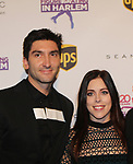 Figure Skating in Harlem celebrates 20 years - Champions in Life benefit Gala on May 2, 2017 at 583 Park Avenue, New York City, New York. Attending are Ashley Wagner and Evan Lysacek. (Photo by Sue Coflin/Max Photos)