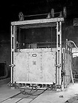 Pittsburgh PA:  View of William Swindell Brothers Car type Electric Heat Treating Furnace - 1925.  Swindell Dressler International Company was based in Pittsburgh, Pennsylvania. The company was founded by Phillip Dressler in 1915 as American Dressler Tunnel Kilns, Inc.  In 1930, American Dressler Tunnel Kilns, Inc. merged with William Swindell and Brothers to form Swindell-Dressler Corporation. The Swindell brothers designed, built, and repaired metallurgical furnaces for the steel and aluminum industries. The new company offered extensive heat-treating capabilities to heavy industry worldwide.
